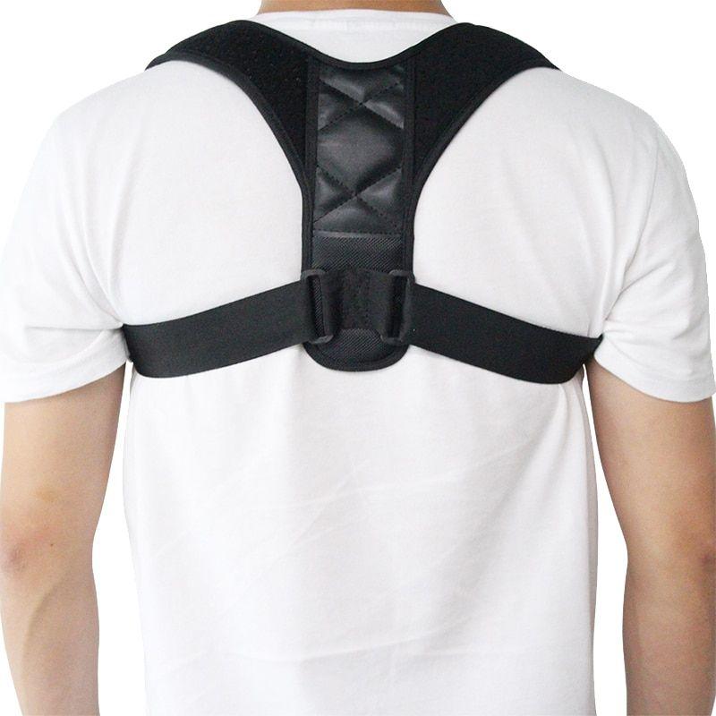 imagen de corrector postural negro