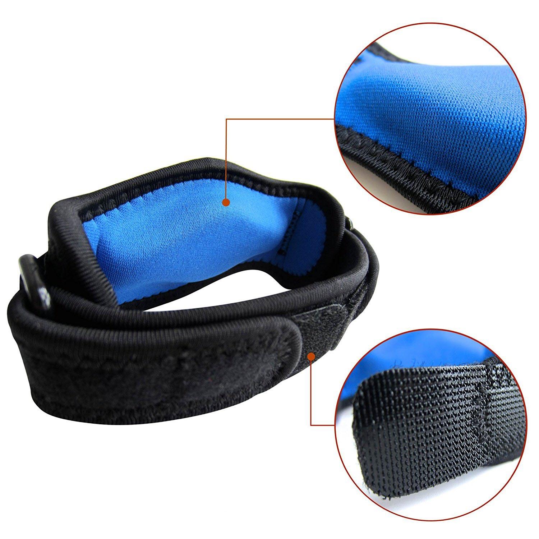 Imagen de cinta para codo azul y negra