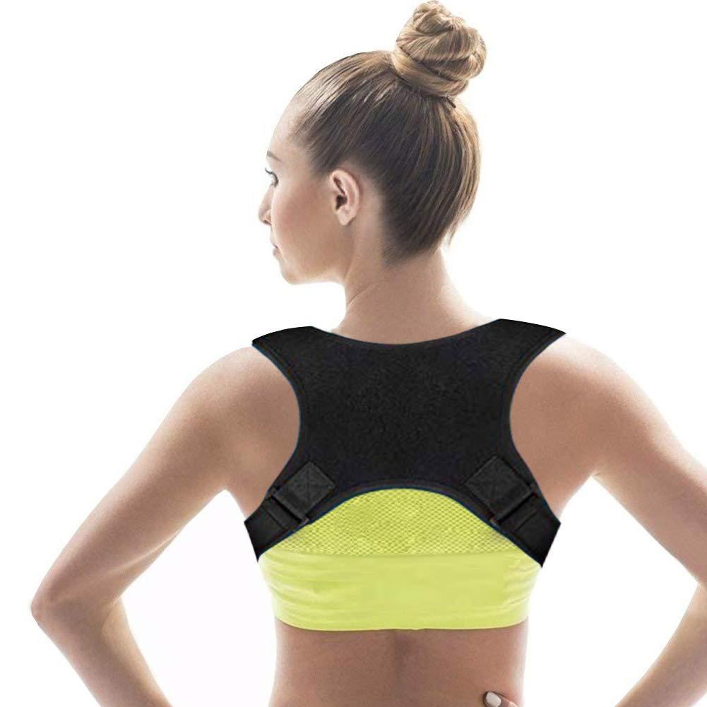 Imagen de mujer con corrector postural